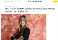 """Lina Anllo: """"Planteo el tema de compliance con una perspectiva de género"""""""